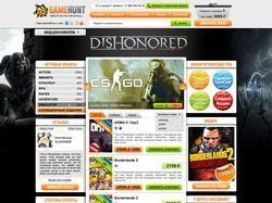 Интернет-магазин Gamehunt