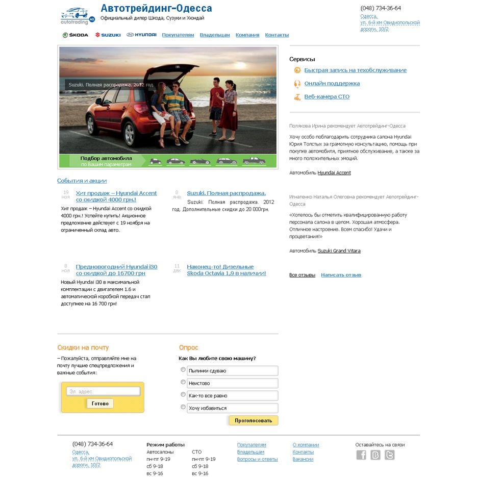 Адреса компания автотрейдинг официальный сайт создания сайте для ie